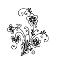 Flower element vector image