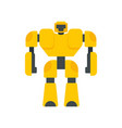 game robot transformer icon flat isolated vector image vector image