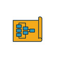 planning icon simple element from soft skills vector image vector image