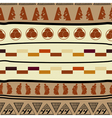 Seamless pattern with african elements vector image vector image