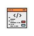 seo programming coding website repair vector image