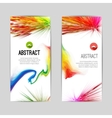 set creative trendy vertical colorful stripes vector image
