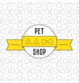 Concept for pet shop vector image