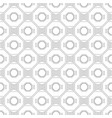 black and white geometric seamless pattern for vector image vector image