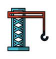crane hook service icon vector image vector image
