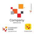 modern art logo abstract design identity brand vector image vector image