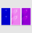 modern vibrant set banners concept eps 10 vector image vector image