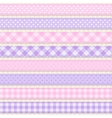 Ribbons and borders vector image