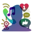 Social network Eps10 vector image