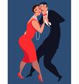 Tango dancers vector image