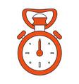 vintage sport chronometer vector image