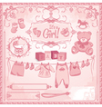 bagirl childbirth vector image vector image