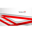 bright abstract background template red with a vector image vector image
