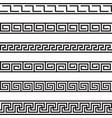 decorative borders vector image