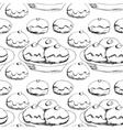 Hanukkah donuts seamless pattern vector image vector image