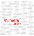 Happy Halloween seamless pattern Stylish vector image