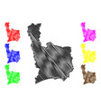 juana diaz municipality commonwealth puerto vector image vector image