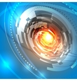 Lens design background vector image