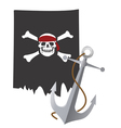 Pirate flag vector | Price: 1 Credit (USD $1)
