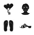 sole powder design and other web icon in black