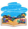 underwater 3d pop up book