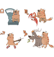 Zodiac Signs Cartoon vector image