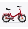 Classic Bicycle bike icon sport concept vector image vector image