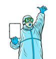 doctor important information covid19 coronavirus vector image