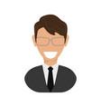 executive man vector image vector image