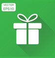 gift box icon business concept pictograph vector image