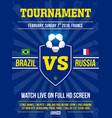 Modern professional sports flyer design with