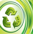 recycle vector image vector image