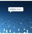 social concept design vector image vector image