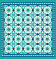 traditional moroccan mosaic background vector image