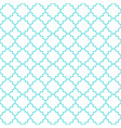 traditional quatrefoil lattice pattern outline vector image