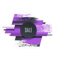 flat promotion original banner sales background vector image