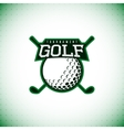 logo golf tournament vector image vector image
