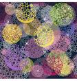 seamless polka dots vector image