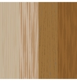 Set the boards of various wood Wooden background vector image vector image