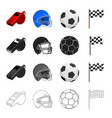sport training accessories and other web icon in vector image