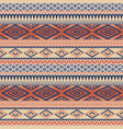 vintage native american style wallpaper vector image