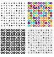 100 sportsmanship icons set variant vector image vector image