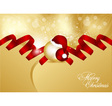 abstract xmas card vector image