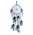 dreamcatcher isolated vector image vector image