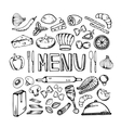 Restaurant cafe menu vector image