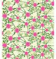 seamless net flower vector image vector image