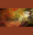 abstract irregular polygonal background autumn vector image vector image