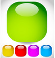 blank rounded squares various colors included vector image