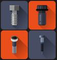 bolt flat design vector image vector image