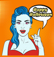 halloween poster or design vector image